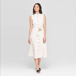 Who What Wear linen dress size medium